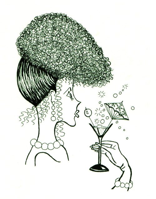 Cocktail-Lady